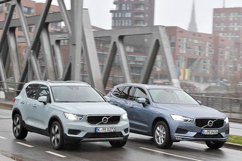Volvo Xc40 Gegen Volvo Xc60 Im Test Autobild De