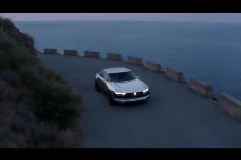 Peugeot E-Legend Concept: Werbung