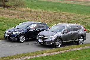 Honda CR-V/Honda HR-V: Test