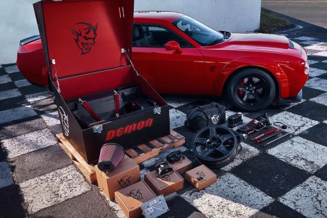 Dodge Challenger Demon Crate