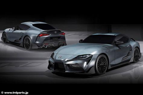 Toyota Supra TRD Performance Concept (2019)