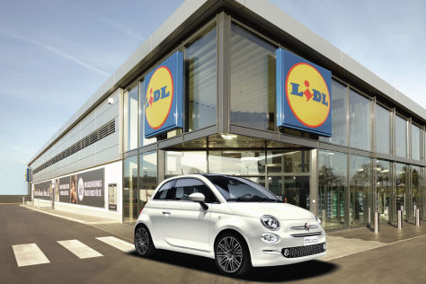 lidl autoleasing fiat 500 f r 89 euro pro monat. Black Bedroom Furniture Sets. Home Design Ideas