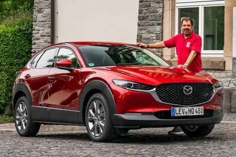 Mazda Cx 30 2019 Test Abmessungen Marktstart Anhangelast Autobild De