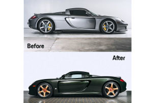 Dieser Carrera GT ist einmalig