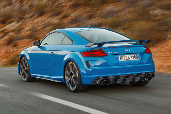 TT RS: Neue Optik, alter Motor