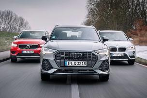 Knapper Sieg für den neuen Audi Q3