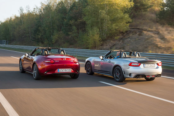 Abarth 124 Spider Mazda MX-5