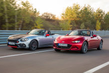 Abarth 124 Spider/Mazda MX-5: Test
