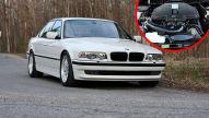 BMW 740i E38: Umbau