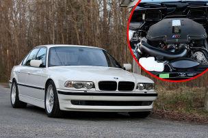 BMW 7er mit M5-Motor