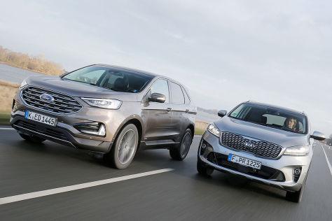 Ford Edge Vergleichstest