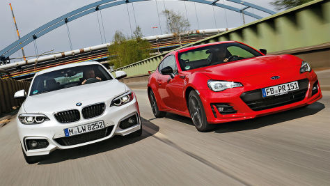 BMW 2er/Subaru BRZ: Test