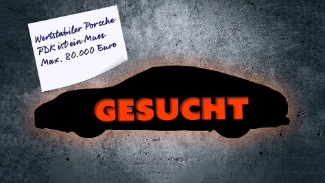 Welches Auto ist das richtige: Porsche-Edition!