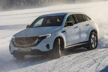 Mitfahrt im Mercedes-E-SUV