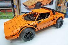 Lancia Stratos: Lego Technic