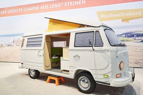 vw t2 aus lego lego bulli in der gr e 1 1. Black Bedroom Furniture Sets. Home Design Ideas