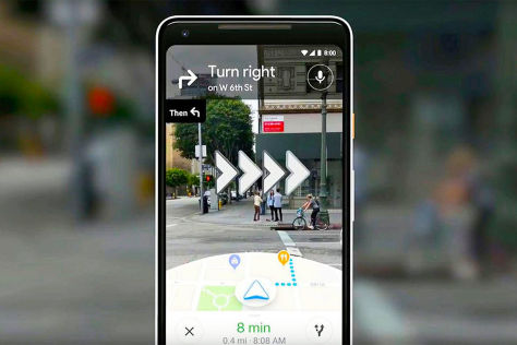 Google Maps: Augmented Reality Navigation