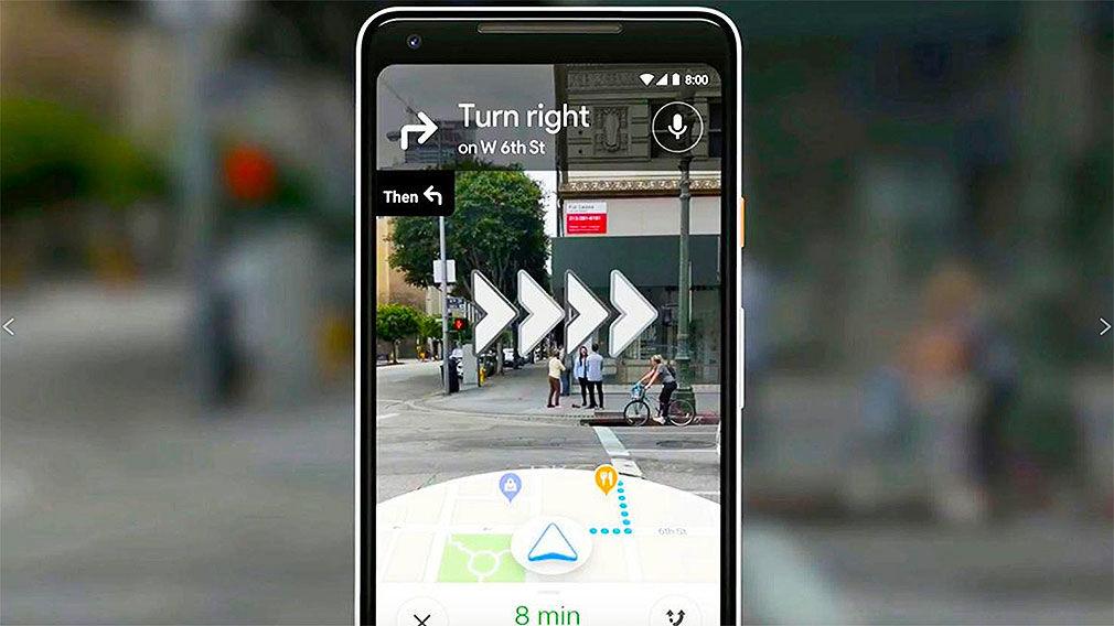 Google Maps: Augmented Reality Navigation