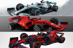 Formel 1: neue Autos 2019