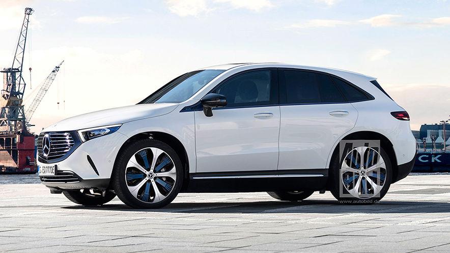 Mercedes EQB (2021) - AUTO BILD