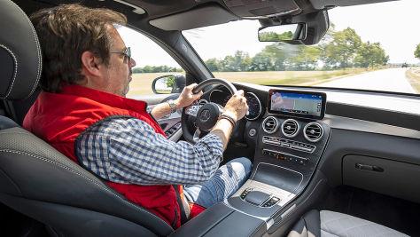 Mercedes GLC Facelift (2019): Test