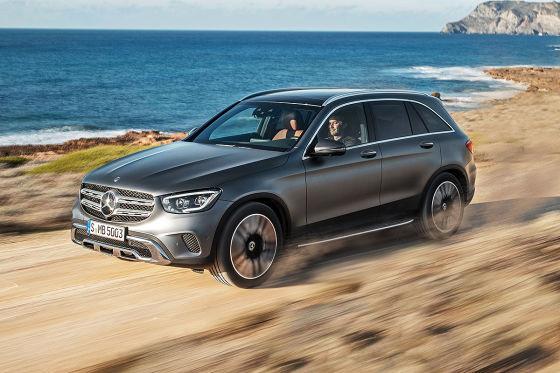 Mercedes frischt den GLC auf