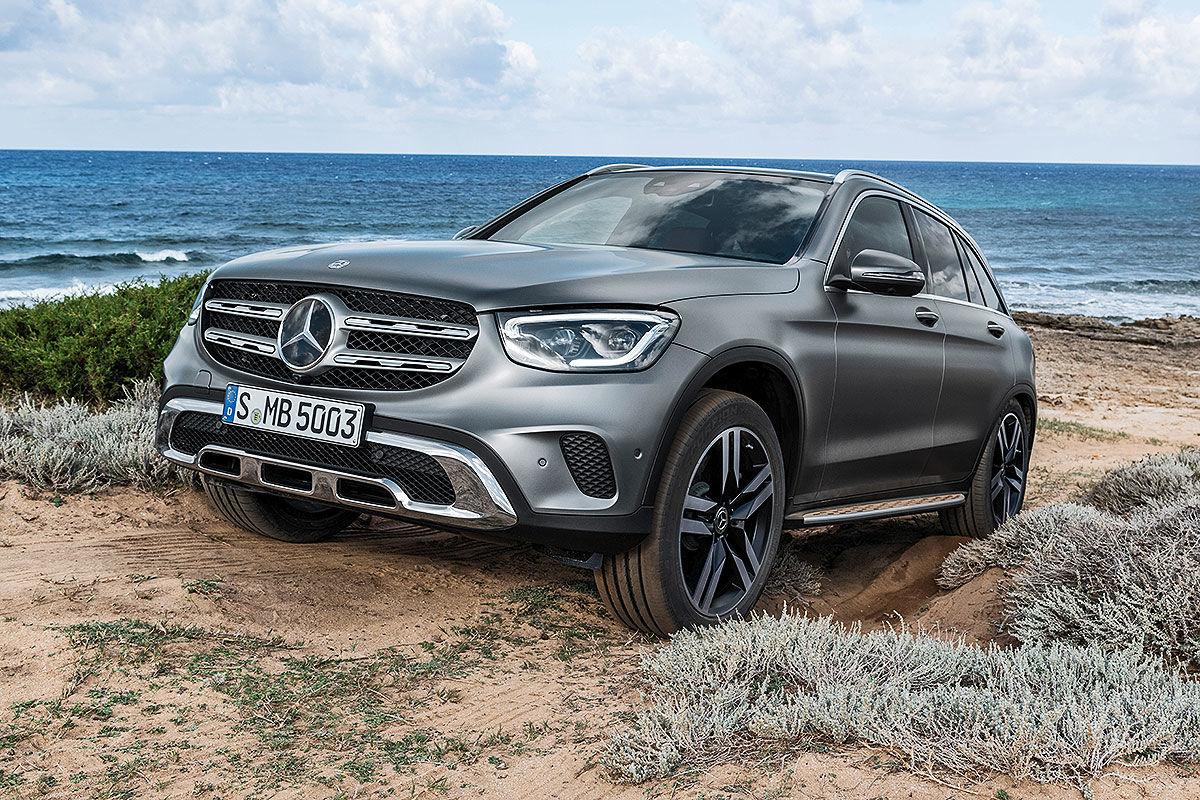 Bildergalerie Mercedes GLC Facelift (2019)