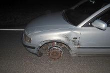 Rheinland-Pfalz: Polizei stoppt Rentner auf drei Reifen