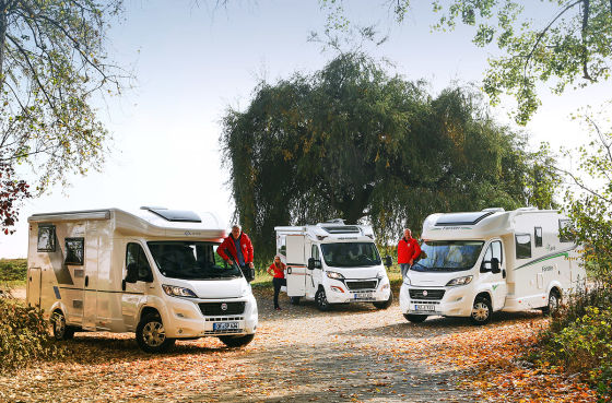 Sun Living S 65 SL, Weinsberg Caracompact 600 MEG Edition Pepper, Forster 4Fans T 649 EB