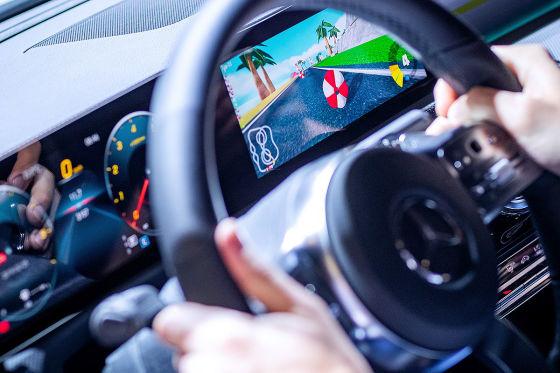 Mercedes holt Computerspiele ins Auto
