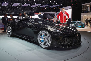 """Bugatti """"La Voiture Noire"""""""
