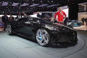 Nah dran am 16-Millionen-Euro-Bugatti