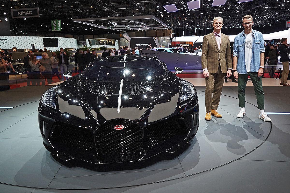 """Bugatti """"La Voiture Noire"""" (2019)"""