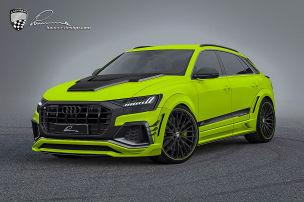 Breite Backen für den Audi Q8