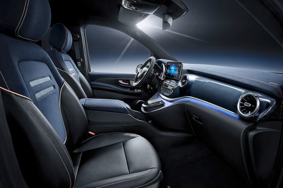 Vollelektrische Mercedes V-Klasse kommt 2019