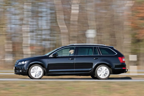 skoda octavia combi gebrauchtwagen test. Black Bedroom Furniture Sets. Home Design Ideas