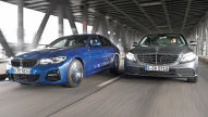 BMW 330i vs. Mercedes C 300: Test