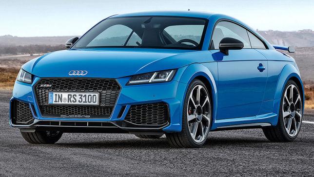 Audi präsentiert neues Facelift für TT RS