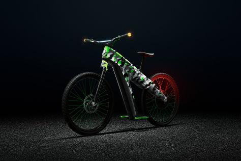 Cooles E-Bike von Skoda