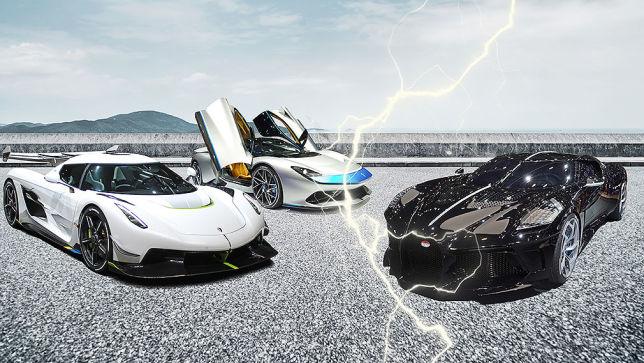 Wer gewinnt die PS-Schlacht vom Genfer Autosalon? Wer hat die meiste Kraft?