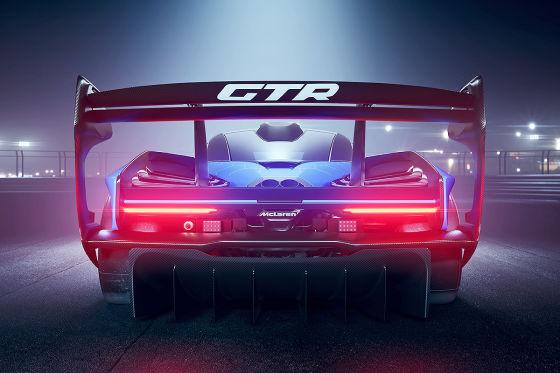 XXXXL-Heckflügel für den Senna GTR
