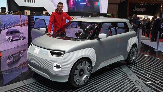 Fiat-Studie Centoventi mit E-Antrieb