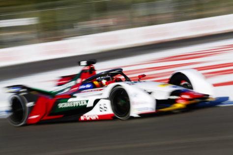 Daniel Abt im Formel-E-Audi