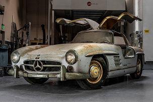 1954er Flügeltürer im Originalzustand