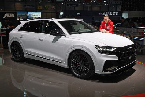 audi q8 abt sportsline 2019 test tuning preis. Black Bedroom Furniture Sets. Home Design Ideas