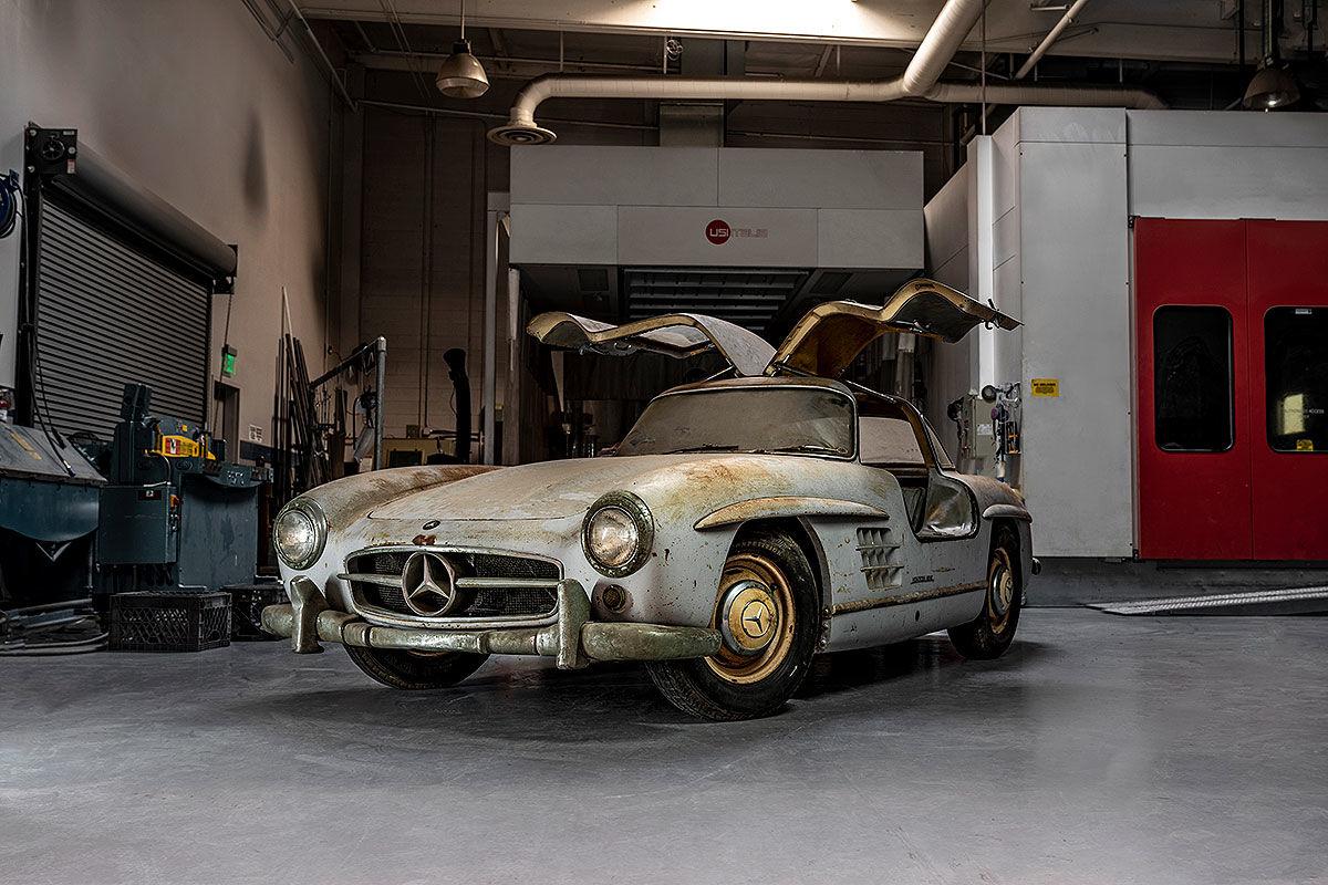Mercedes 300 SL: Scheunenfund