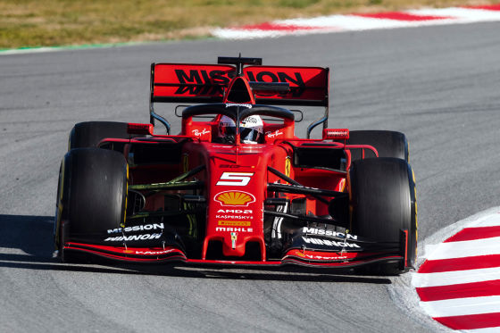 So heißt Vettels Ferrari