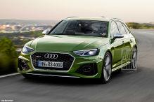 Audi RS 4 Facelift (2019): Update für den Sportkombi
