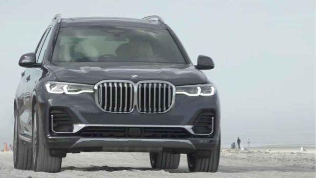 Erste Fahrt in BMWs XL-SUV