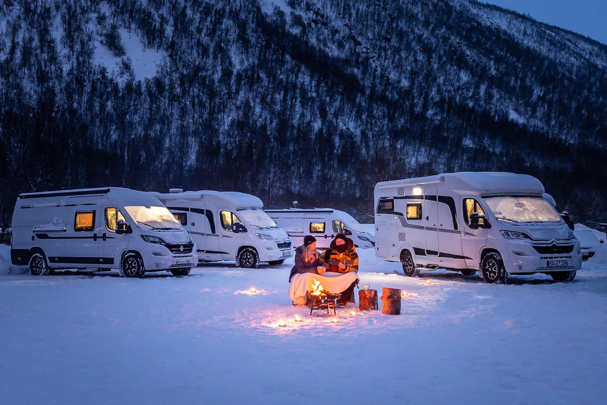 Wintercamping: Das bieten die Hersteller